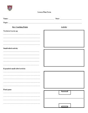 Session Plan Template Keni Candlecomfortzone Com Football Coaching Portfolio Template