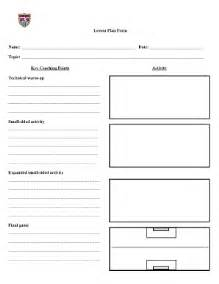 soccer practice plan template soccer lesson plan template fill printable