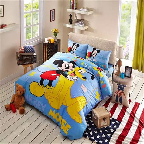 awesome mickey mouse bedroom set on mickey and pluto