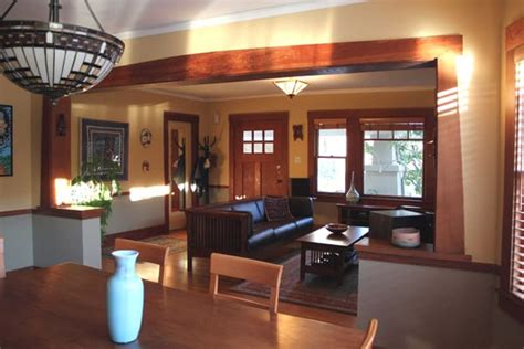 bungalow style homes interior interior decorating of bungalow style home in berkeley