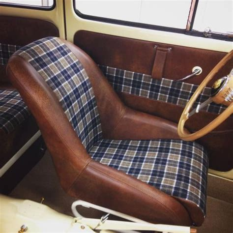 Tartan Comby corduroy car interior search bikes