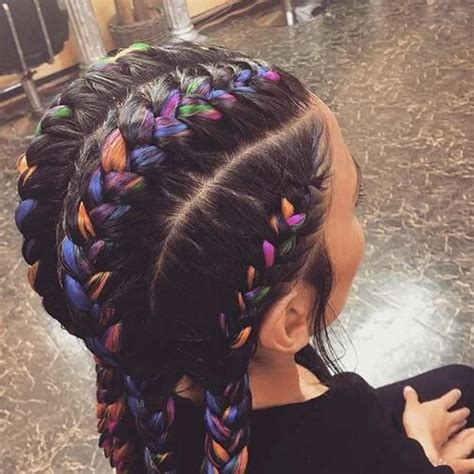 hairstyles to do with plaited extensions 50 flattering goddess braids ideas to inspire you hair
