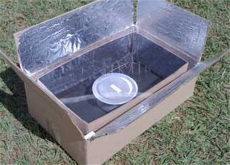 how to make solar city easy to make cardboard solar cooker