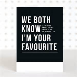 i m your favourite s day card by doodlelove notonthehighstreet