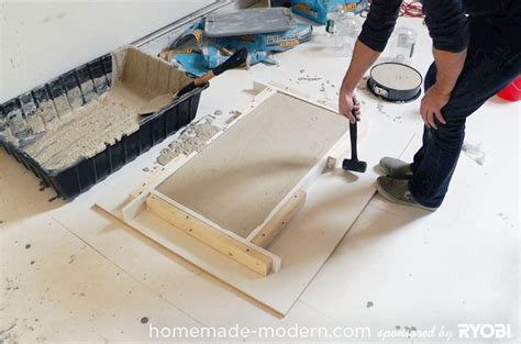 How To Make A Concrete Coffee Table Modern Ep15 Concrete Wood Coffee Table
