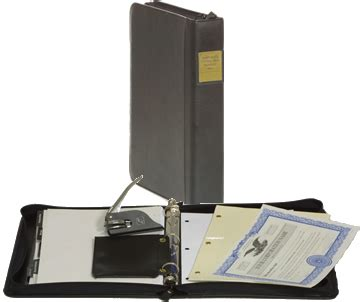 irc section 1244 corporate kits corporate binder corporate book