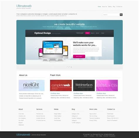xhtml template free xhtml templates samz3d