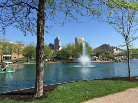 paddle boats canal indianapolis the 10 best riverwalks to explore in indiana