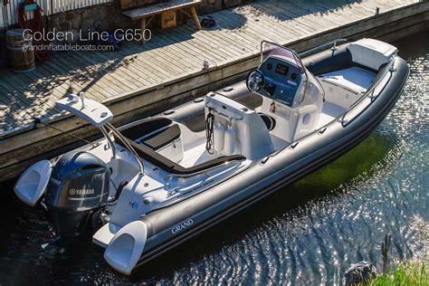 rib boat grand grand golden line 650 govi as