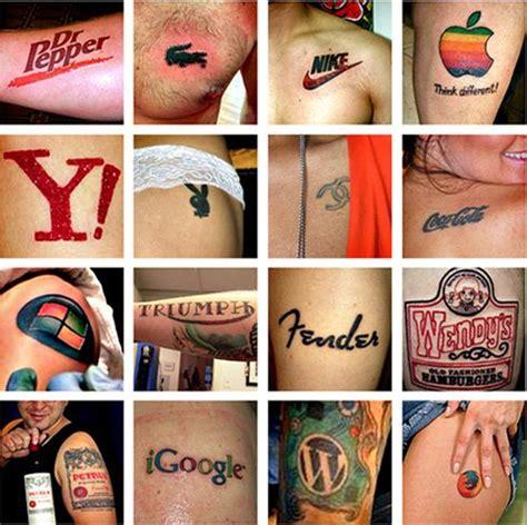 tattoo logo brand a ceo s crash course in brand loyalty cultbranding com