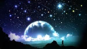 Moon and star hd wallpapers wallpaperscharlie