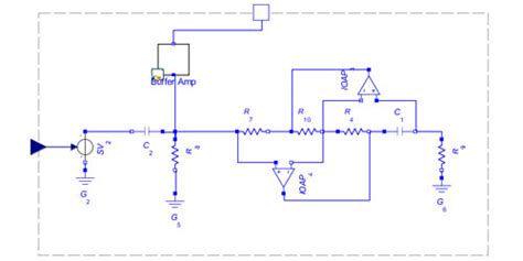 antoniou inductor emulator circuit model