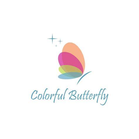 colorful butterfly logo colorful butterfly 15logo