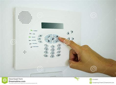 home security alarm royalty free stock photography image