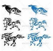 Tribal Horse Tattoo Designs
