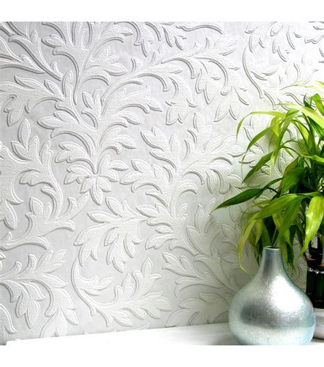 high leaf paintable textured vinyl wallpaper sample jo ann