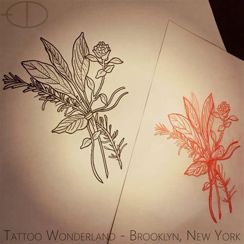 herb tattoo baf4003a7e31dc18494a1a638f811aaa jpg 2000 215 2000 poppy