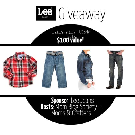 Jeans Giveaway - lee jeans giveaway mumblebee inc