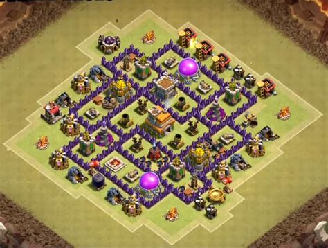 coc town hall 7 war bas 12 exceptional th7 war bases anti everything 2017 3 air