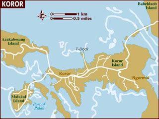 palau babeldaob island map island girl palau half marathon my quest for t shirts