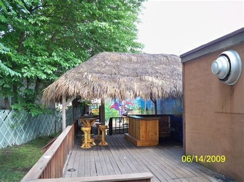 Tiki Hut Topper 122 Best Tiki Kev S Custom Built Bars Images On