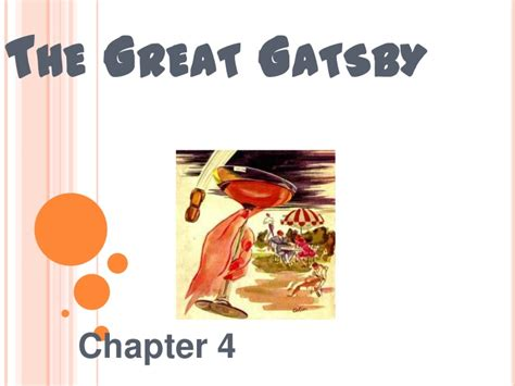 Important Quotes Chapter 4 Great Gatsby