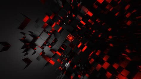 wallpaper black night abstract space red symmetry