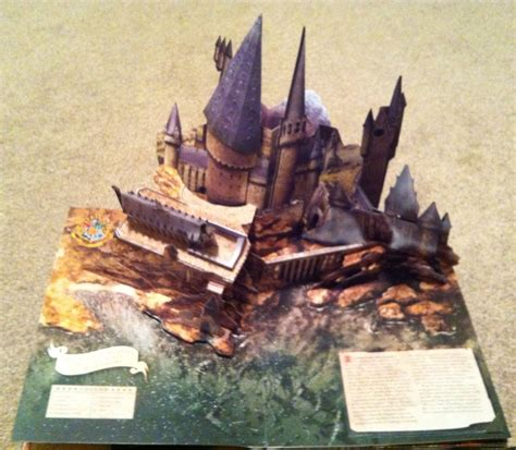 harry potter a pop up harry potter pop up book hogwarts pop up