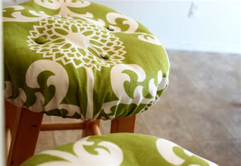 sweet ry pie and calj re covered bar stool cushion