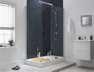 aqualux sapphire walk in shower enclosure glass silver