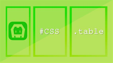 css table spacing css table basic structure for a typical mobile app layout
