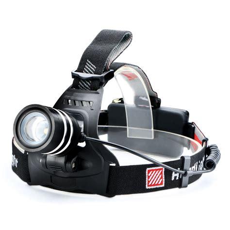 T6 High Power Headl Cree Xm L T6 5000 Lumens Hitam 3000lm cree xm l t6 led torch zoomable headlight