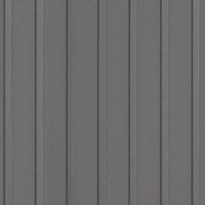 G Floor Rib 7.5 ft. x 17 ft. Slate Grey Vinyl Garage