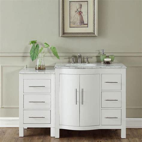 54 quot modern single bathroom vanity espresso with sink