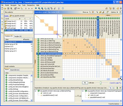 Architecture Design Software Online deconstructing software dependency matrix