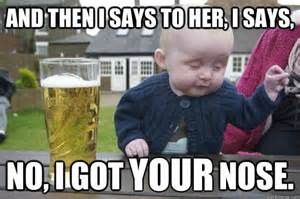Hit The Floor Here We Is Boy - 20 hilarious funny cute baby meme on internet reckon talk