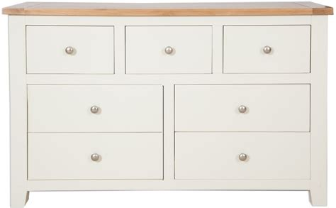 Chest Of Drawers Perth by Buy Perth Ivory Chest Of Drawer Wide 7 Drawer