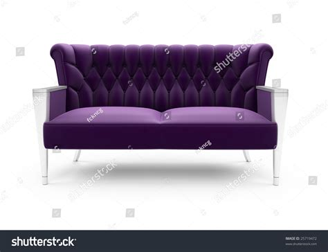 purple sofa website isolated purple sofa on a white background stock photo
