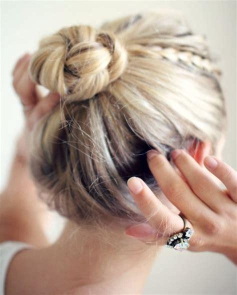 make a bun wth braiding hair 19 gorgeous and easy updos for long hair