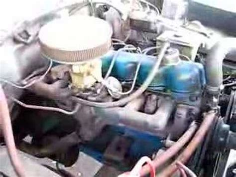 1975 ford 300 straight six youtube