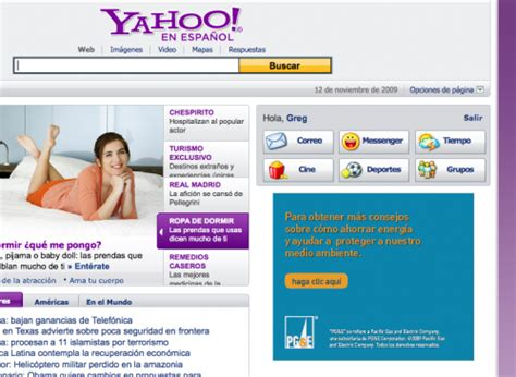 Search En Espanol Yahoo Launches Mobile Site En Espa 241 Ol