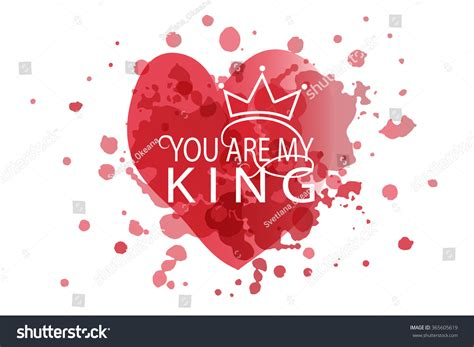 king valentines you are my king as s day logotype badge and