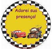 Carros Disney – Kit Festa Infantil Gr&225tis Para Imprimir