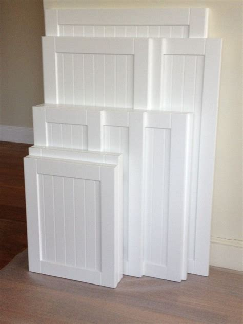 White Beadboard Kitchen Cabinets by Kitchen Cabinet Refacing The Process Home Design Style