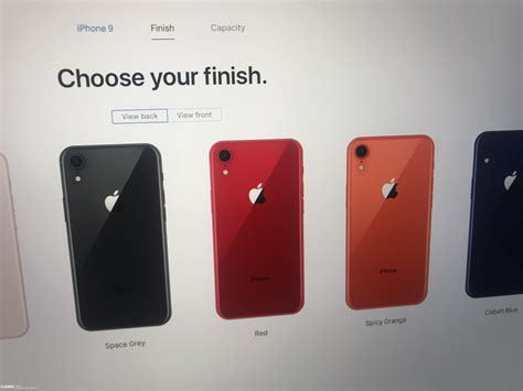 suspected apple iphone 9 official purchase page exposed gizchina