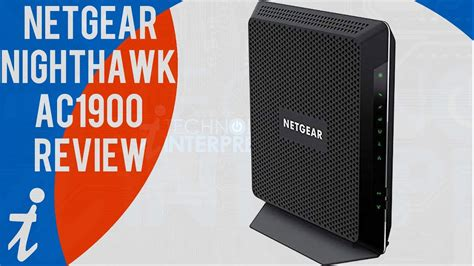 netgear nighthawk ac wifi cable modem router review model  youtube