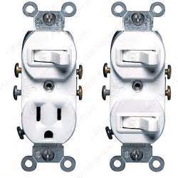 leviton 15 amp 20 amp commercial grade combination switches