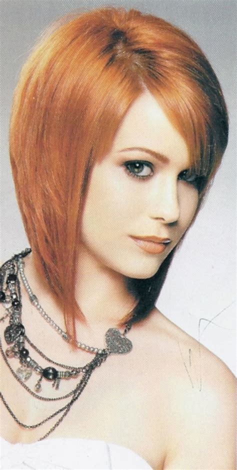 how to style hair just below chin bob hairstyles cut just below chin line asymmetrical bob