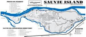 sauvie island oregon map sauvie island tourist map sauvie oregon mappery