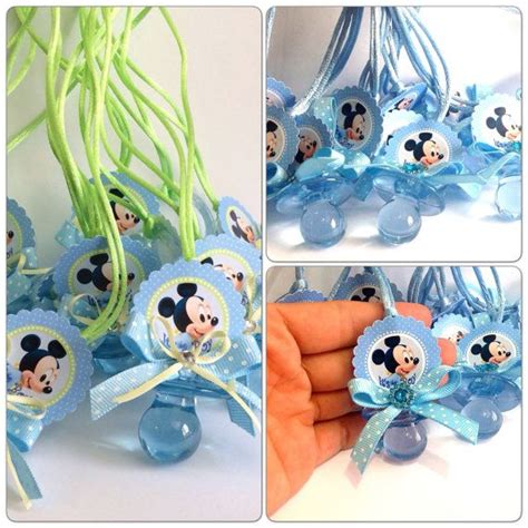 mickey mouse baby shower decorations mickey mouse baby shower pacifiers mickey by